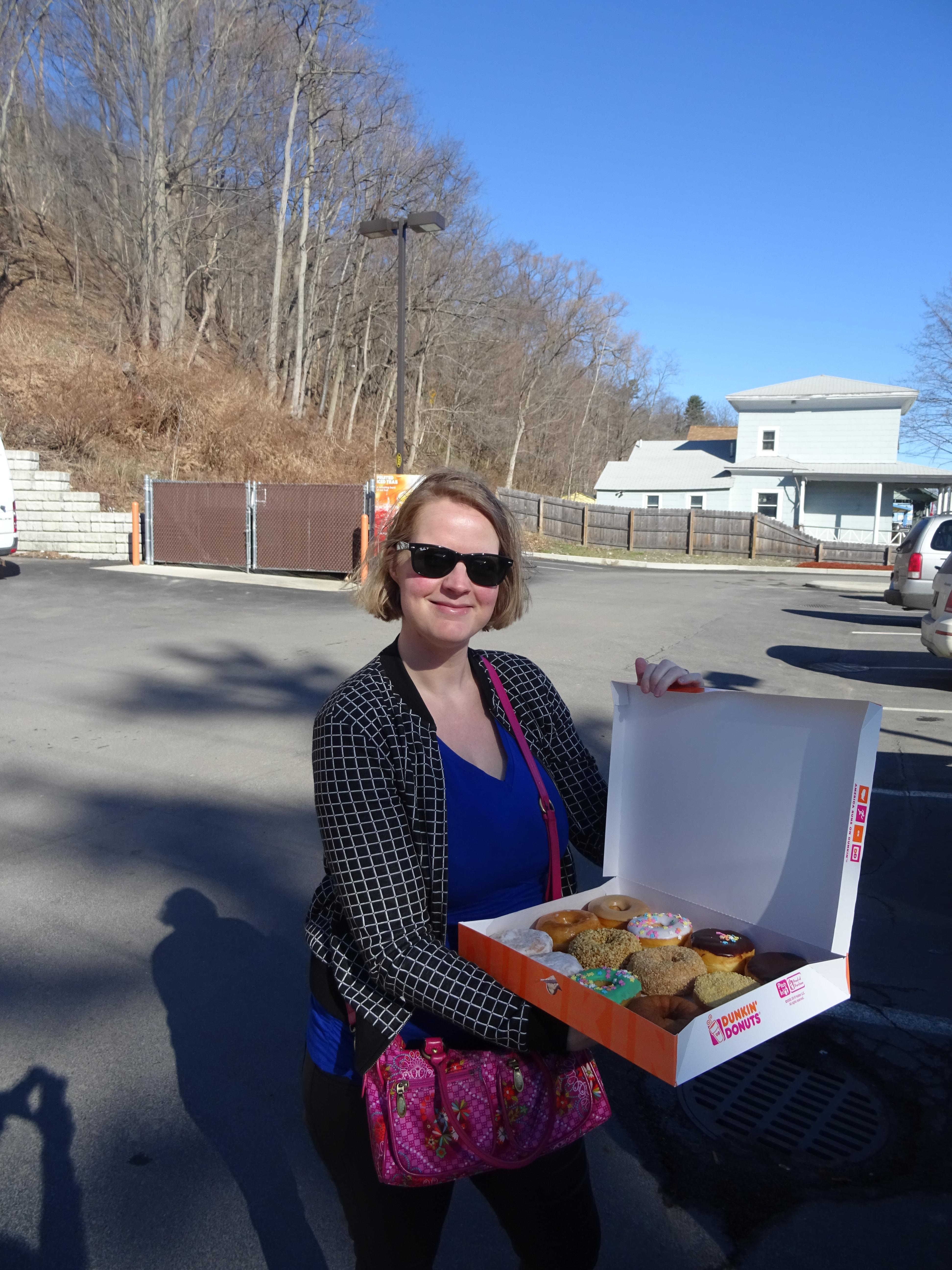 Dag 6 Dunkin Donuts Amp Watervallen Daan En Tamara In